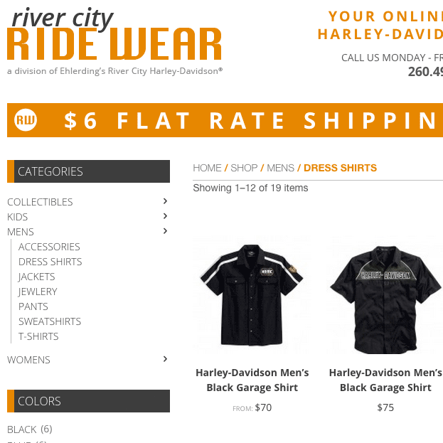 River City Ride Wear
